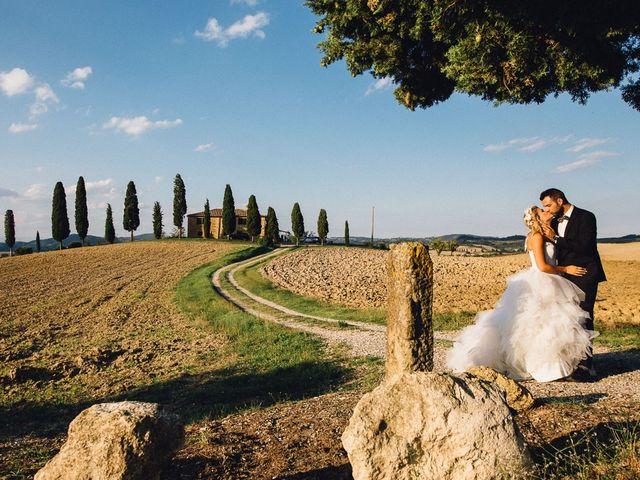 Il matrimonio di Joe e Cecilia a Pienza, Siena 45