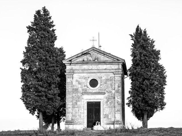 Il matrimonio di Joe e Cecilia a Pienza, Siena 48