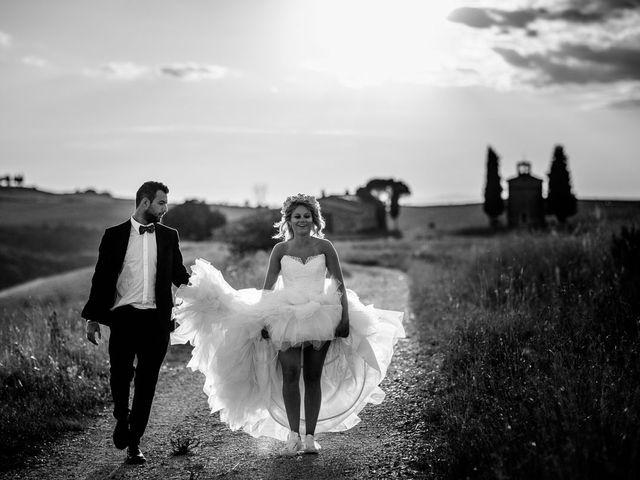 Il matrimonio di Joe e Cecilia a Pienza, Siena 49