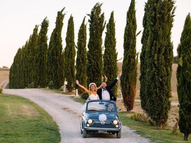 Il matrimonio di Joe e Cecilia a Pienza, Siena 50