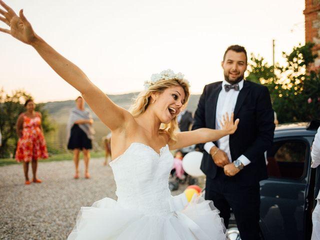 Il matrimonio di Joe e Cecilia a Pienza, Siena 51