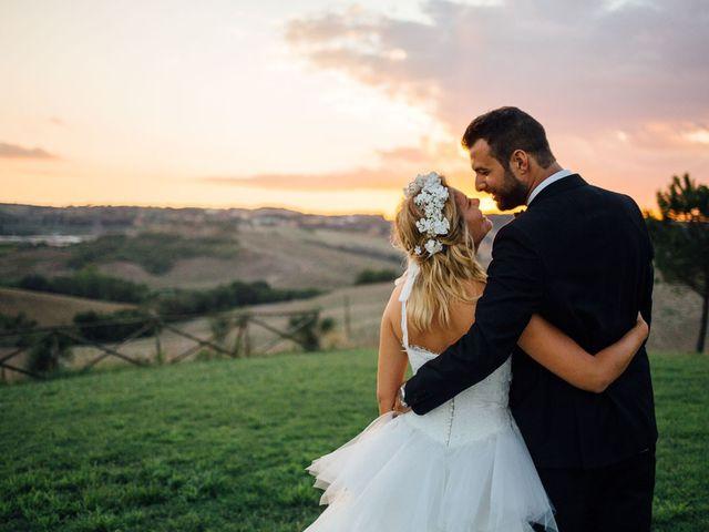 Il matrimonio di Joe e Cecilia a Pienza, Siena 58