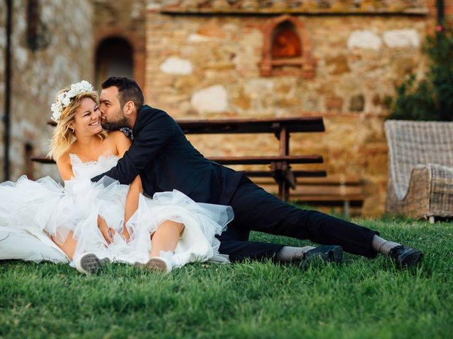 Il matrimonio di Joe e Cecilia a Pienza, Siena 60