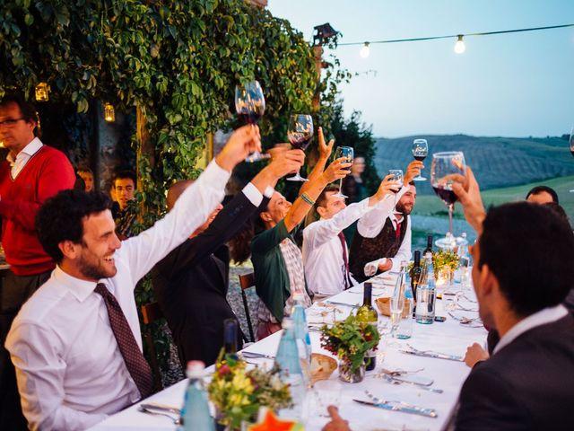 Il matrimonio di Joe e Cecilia a Pienza, Siena 64