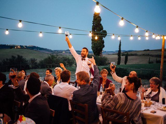 Il matrimonio di Joe e Cecilia a Pienza, Siena 65