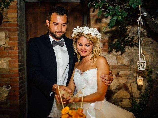 Il matrimonio di Joe e Cecilia a Pienza, Siena 73