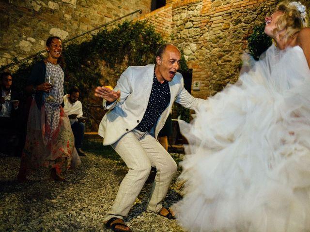 Il matrimonio di Joe e Cecilia a Pienza, Siena 77