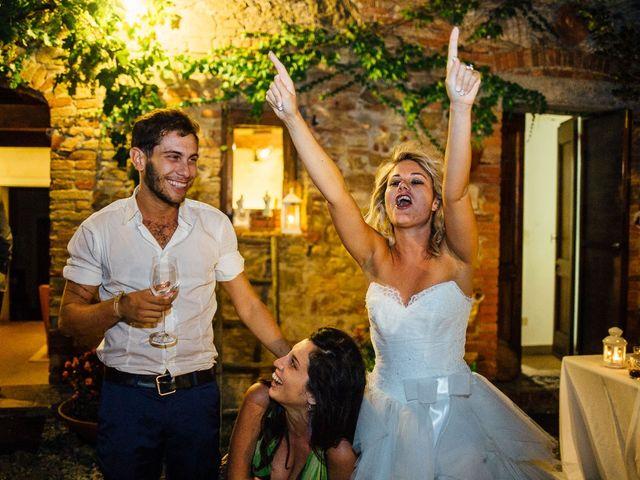 Il matrimonio di Joe e Cecilia a Pienza, Siena 95