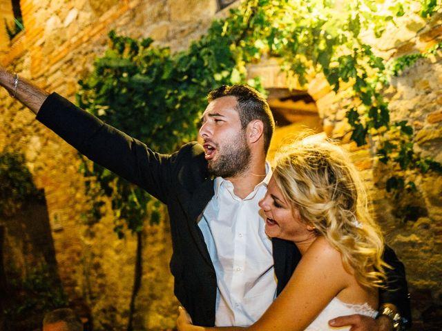 Il matrimonio di Joe e Cecilia a Pienza, Siena 97
