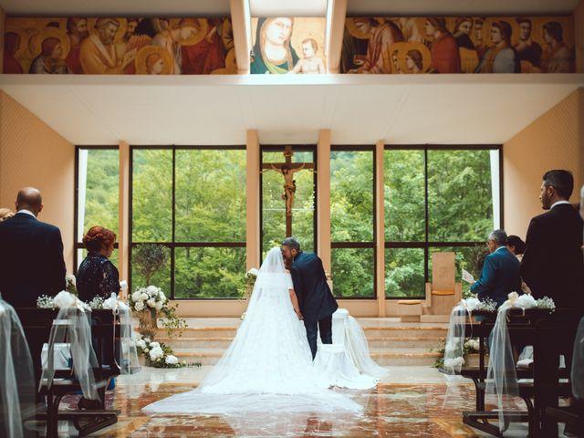 Il matrimonio di Luigi e Lorena a Settefrati, Frosinone 40