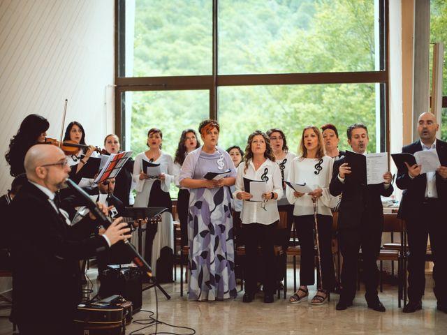 Il matrimonio di Luigi e Lorena a Settefrati, Frosinone 43