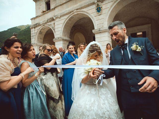 Il matrimonio di Luigi e Lorena a Settefrati, Frosinone 63