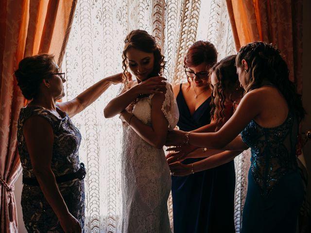 Il matrimonio di Rosalba e Giorgio a Montemaggiore Belsito, Palermo 10