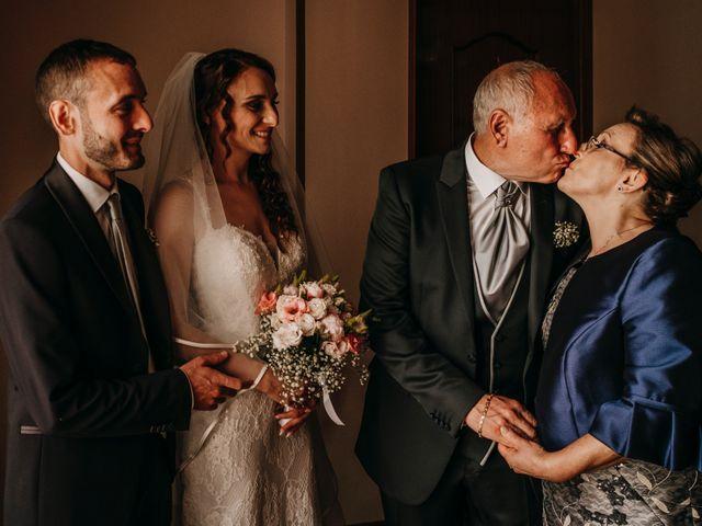 Il matrimonio di Rosalba e Giorgio a Montemaggiore Belsito, Palermo 17