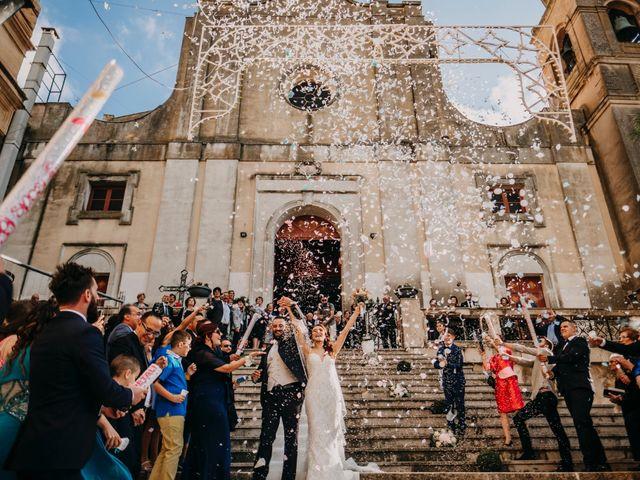 Il matrimonio di Rosalba e Giorgio a Montemaggiore Belsito, Palermo 33