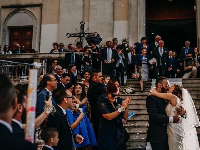 Il matrimonio di Rosalba e Giorgio a Montemaggiore Belsito, Palermo 34
