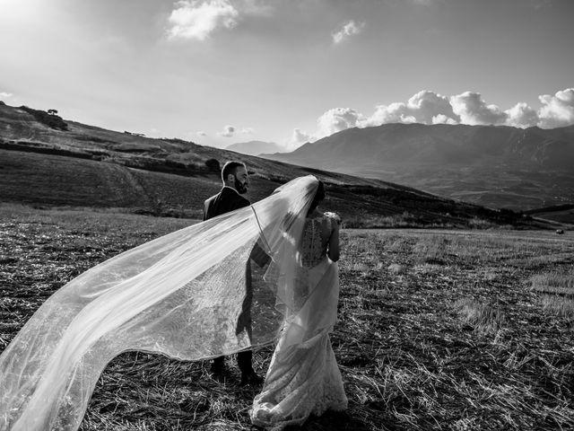 Il matrimonio di Rosalba e Giorgio a Montemaggiore Belsito, Palermo 40