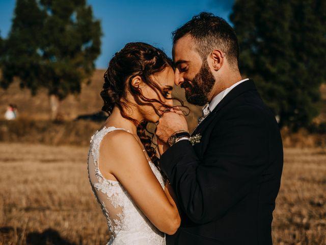Il matrimonio di Rosalba e Giorgio a Montemaggiore Belsito, Palermo 55