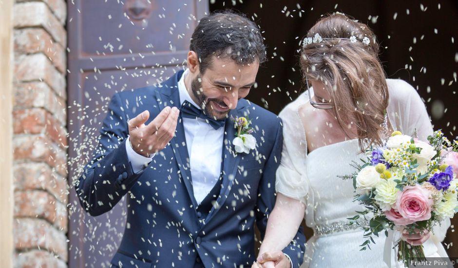 Il matrimonio di Angelo e Chiara a Gazzola, Piacenza
