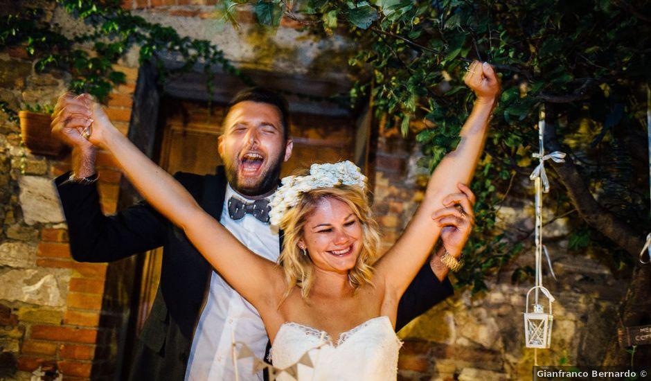 Il matrimonio di Joe e Cecilia a Pienza, Siena