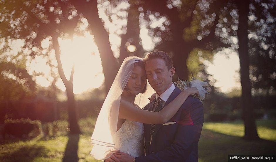 Il matrimonio di Andrea e Anais a Frascati, Roma