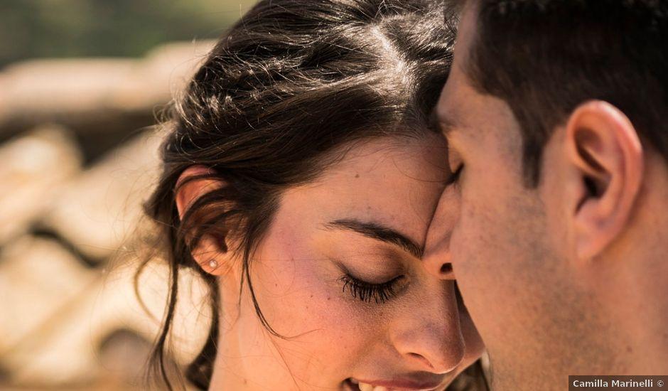 Il matrimonio di Federico e Giulia a Grottaferrata, Roma
