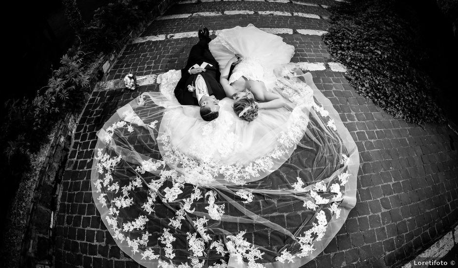 Il matrimonio di Andrea e Manuela a Grottaferrata, Roma