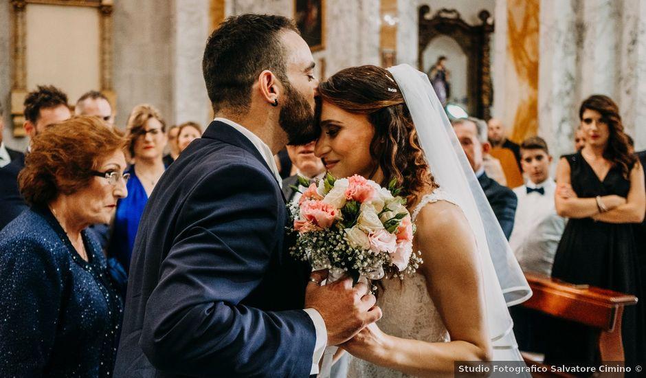 Il matrimonio di Rosalba e Giorgio a Montemaggiore Belsito, Palermo