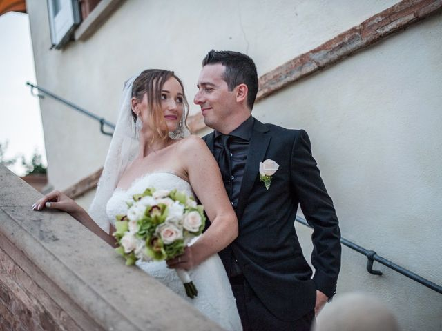 Le nozze di Nadia e Cristian