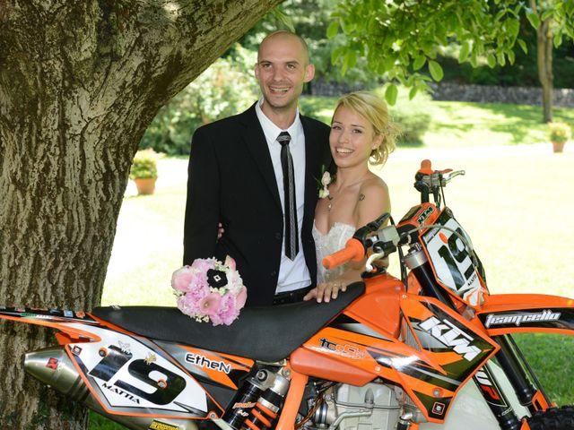 Il matrimonio di Mattia e Tanya a Cellatica, Brescia 25