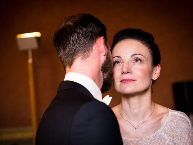 Le nozze di Nadine e Sebastien