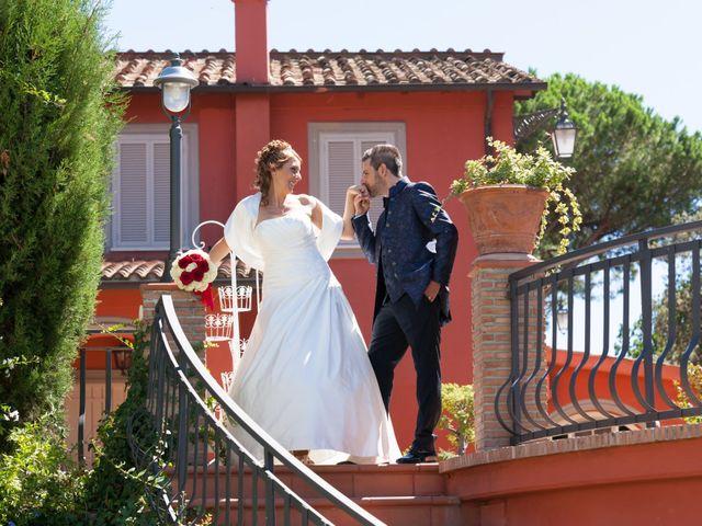 le nozze di Cinzia e Andrea