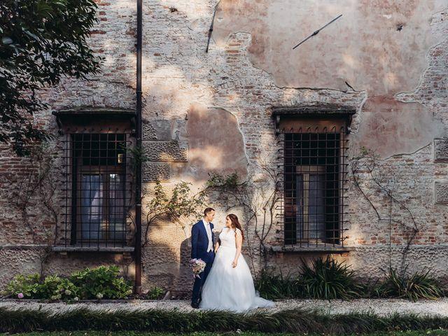 Il matrimonio di Lorenzo e Caterina a Bevilacqua, Verona 1