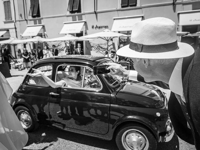 Il matrimonio di Guillaume e Aurore a Lucca, Lucca 23