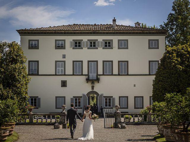 Il matrimonio di Guillaume e Aurore a Lucca, Lucca 31