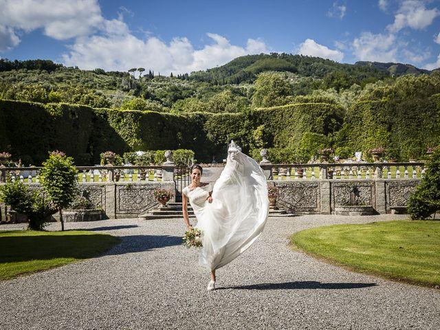 Il matrimonio di Guillaume e Aurore a Lucca, Lucca 33