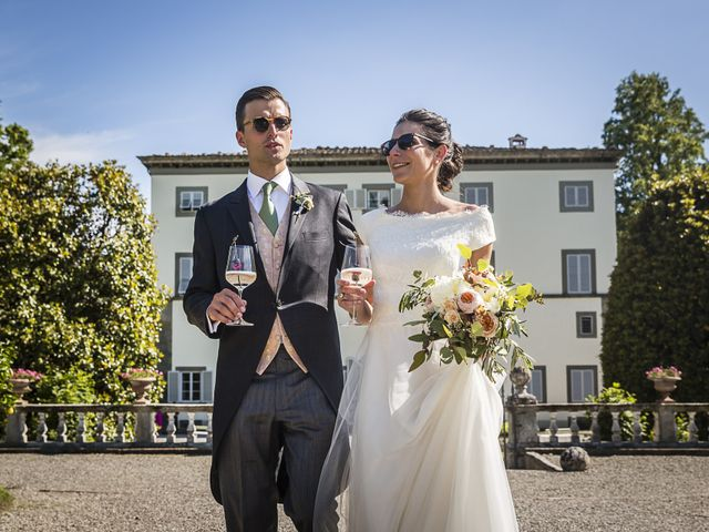 Il matrimonio di Guillaume e Aurore a Lucca, Lucca 34