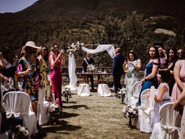Il matrimonio di Andrea e Elena a Scheggino, Perugia 17