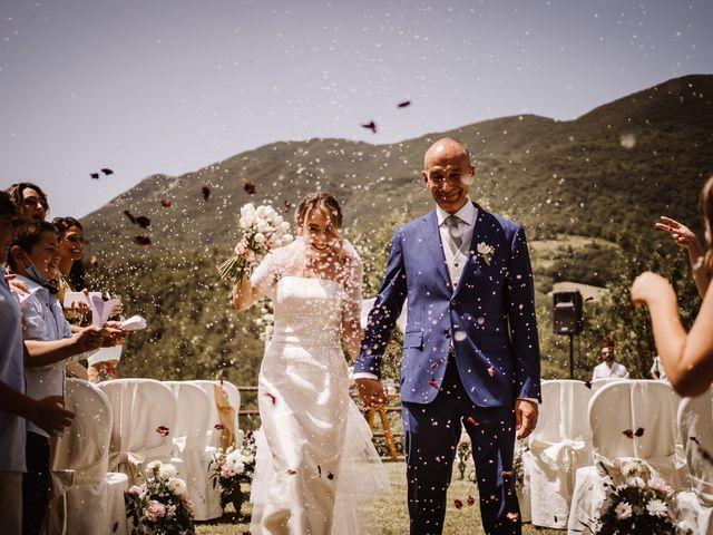 Il matrimonio di Andrea e Elena a Scheggino, Perugia 19