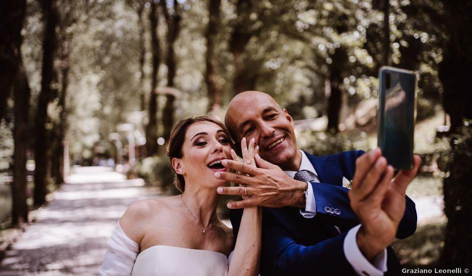 Il matrimonio di Andrea e Elena a Scheggino, Perugia