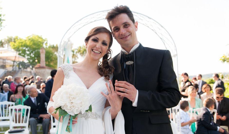 Il matrimonio di Claudia e Luca a Mogliano, Macerata