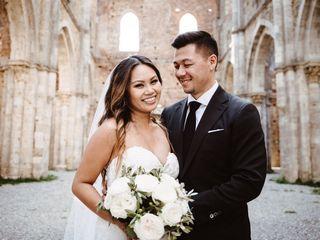 Le nozze di Shin e Jamie