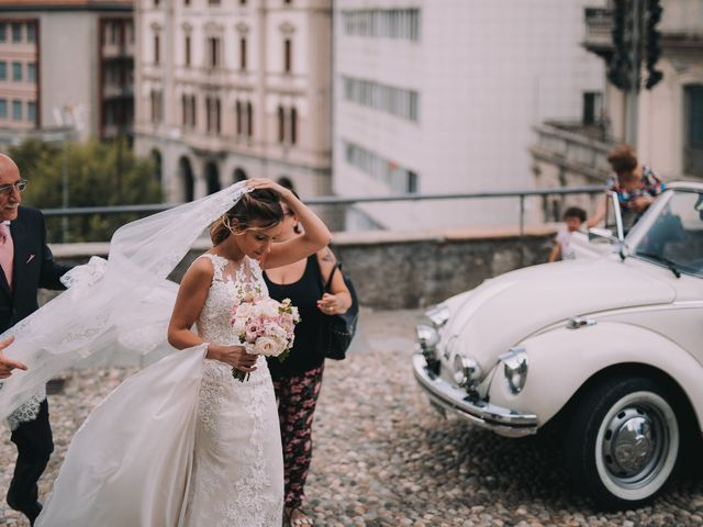 Il matrimonio di Natan e Alessandra a Como, Como 16