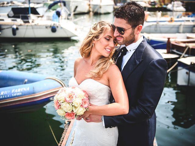 Il matrimonio di Vincenzo e Pina a Pozzuoli, Napoli 1