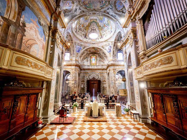 Il matrimonio di Paolo e Greta a Sale Marasino, Brescia 18