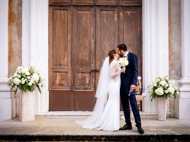 Il matrimonio di Paolo e Greta a Sale Marasino, Brescia 23