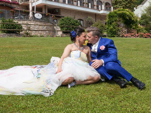 Il matrimonio di Fabio e Lorena a Gandosso, Bergamo 15