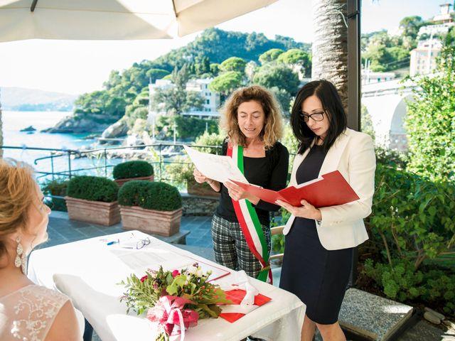 Il matrimonio di Andrea e Elena a Zoagli, Genova 31
