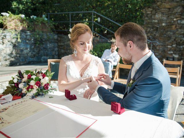 Il matrimonio di Andrea e Elena a Zoagli, Genova 34