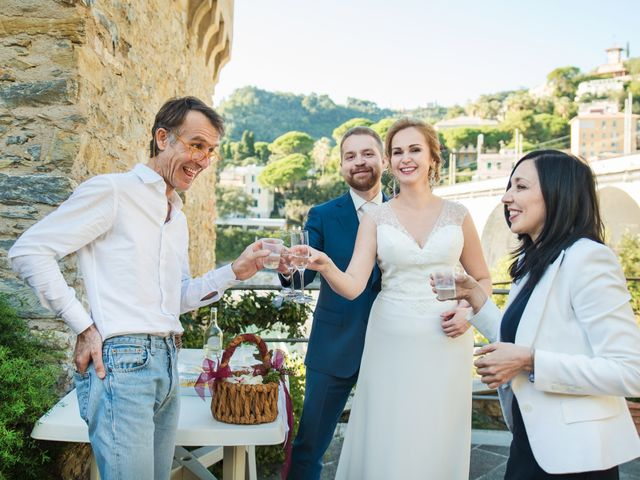 Il matrimonio di Andrea e Elena a Zoagli, Genova 38